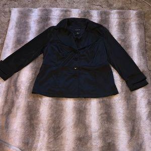 Lane Bryant sateen coat